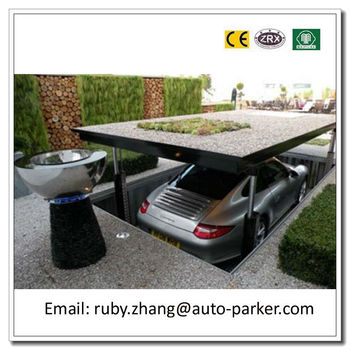 For sale new style pit design parking equipment for Assurance voiture garage parking