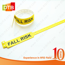 Custom Disposable Soft PVC RFID NFC Wristband
