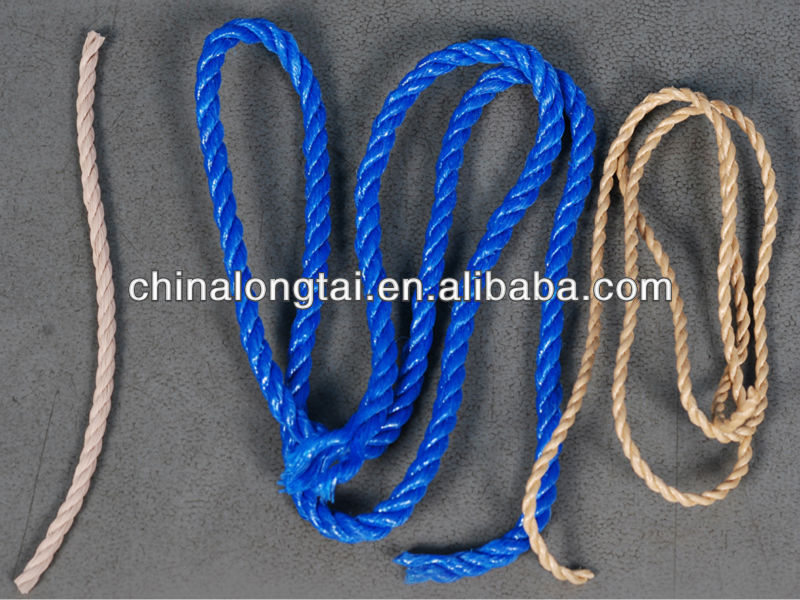 pp cable filler yarn/polyester sewing thread/packing rope/coir twine