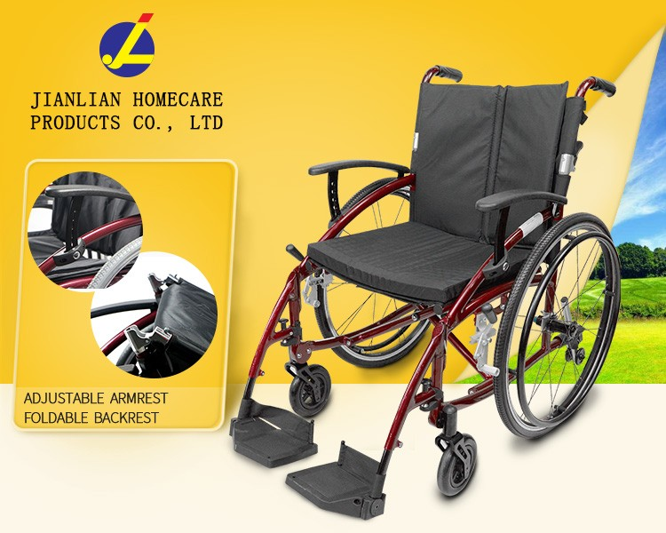 Wheelchair With 8 inch Wheel