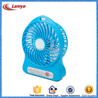 2016 Novelty foldable battery rechargeable advertising gift super mini fan