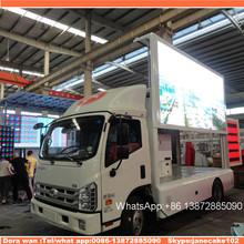 P5 P6 P8 full color outdoor advertising screen digital billboard outdoor advertising display mobile led truck for sale