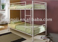 Steel bunk bed frame double deck bed