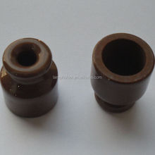 Brown White Porcelain Spool Insulator, small wiring insulator