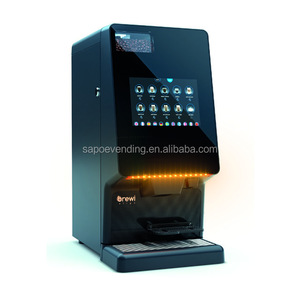 Super touch screen coffee bean to cup coffee machine with best price