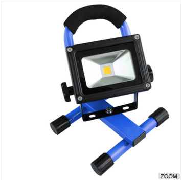 Outdoor 10W Waterproof Charging Project-light Lamp LED Rechargeable Flood Light Lamp/Field Work Light/Camping Light