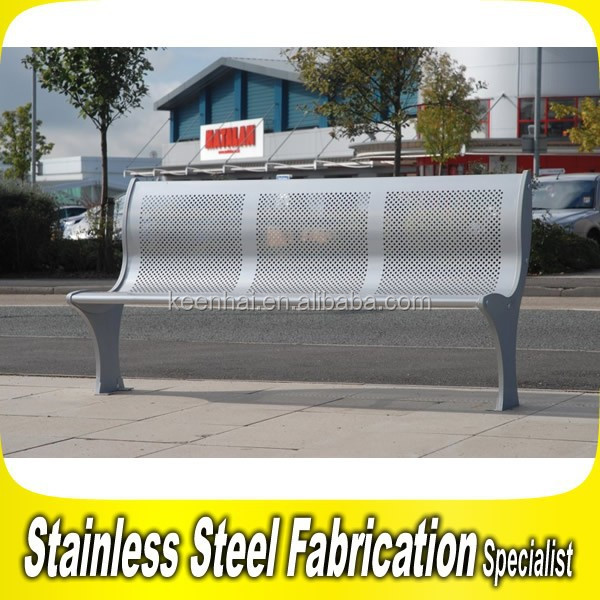 Park Bench Parts Outdoor Metal Benches Steel Bench Seating