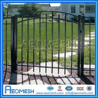 Cheap Wholesale Aluminum Decorative yard guard fence/front yard fence/fence post design