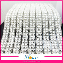 wholesale iron on glass stones rhinestone crystal mesh roll