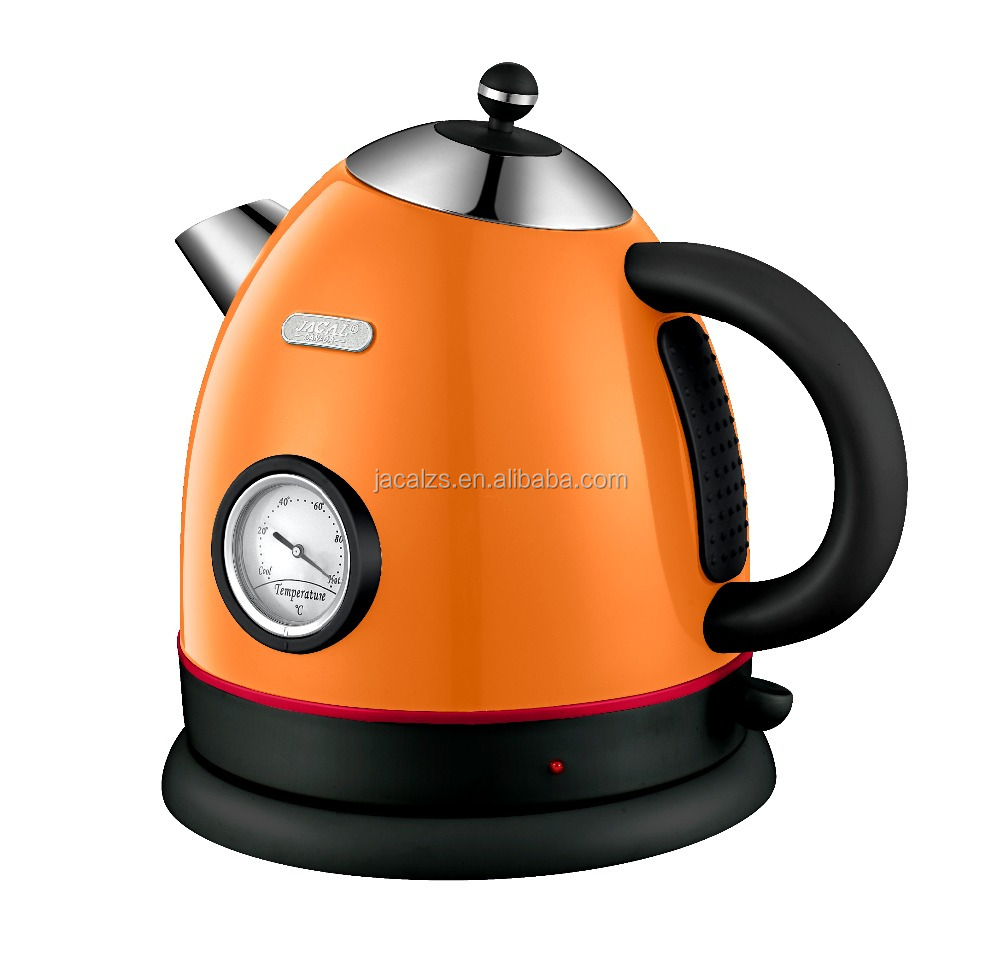 New kitchen appliance durable CE/GS stainless steel electric kettle thermometer display CB/CE/GS/SAA