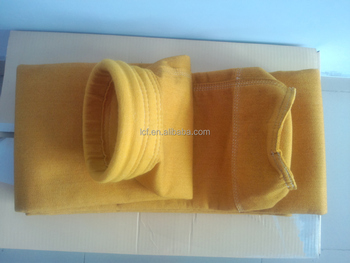 High temperature and chemical resistance P84-polyimide dust collector filter bag