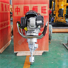 KOHLER gasoline engine 7.75 HP mountain bags drill rig manufacturer backpack core sample drilling rig price