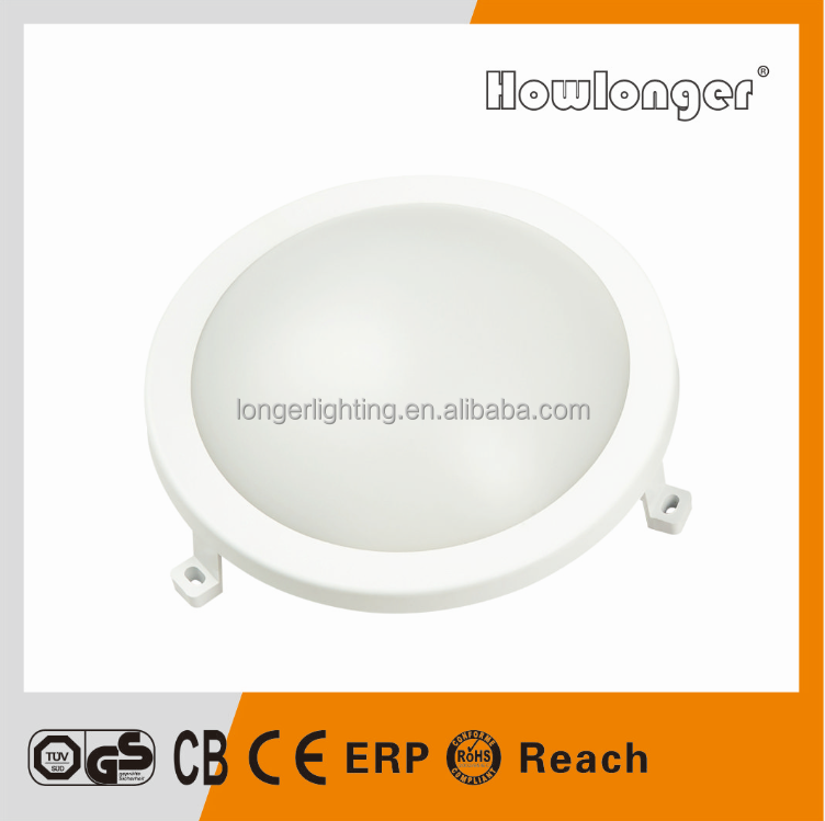 Outdoor IP65 Waterproof Oval LED Wall Lamp 6W 12W Wall Bulkhead Light