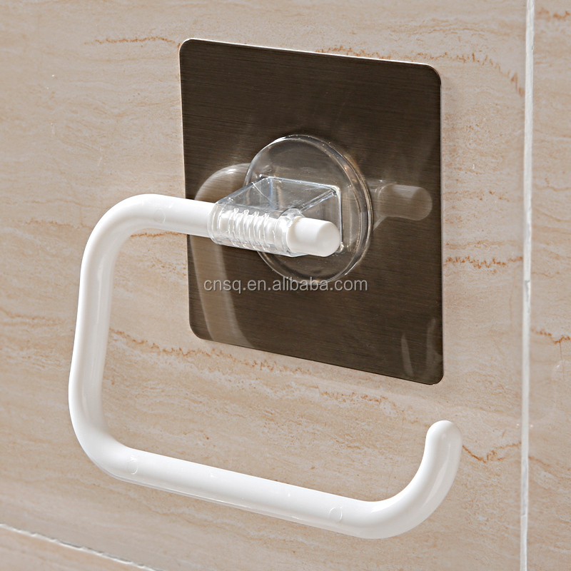plastic kitchen toilet paper towel holder