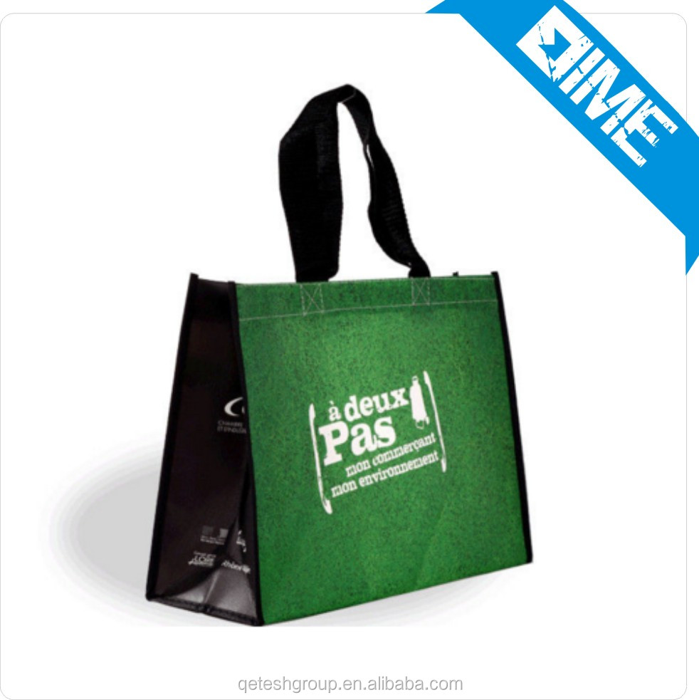 simple design non woven shopping bag totebag