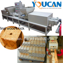 High performance best selling Wood Sawdust Pallet Log Hot Press Machine
