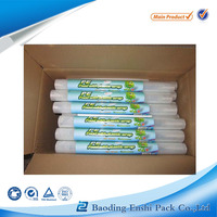 waterproof LLDPE plastic film on rolls PE stretch Warp film