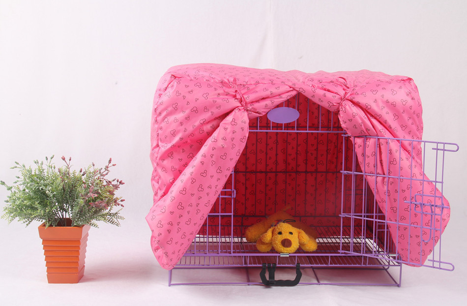 Comfortable Durable Pet Crate Cover for Wire Crate Dog Cat Kennel Cage Cover waterproof