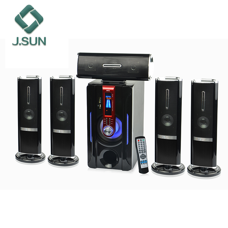 J.SUN 5.1channel audio home theater speaker systems DM-6561 with USB SD FM Radio