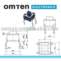 ISO9001/ISO14001 micro tact switch miniature switch