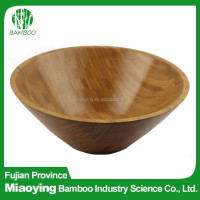 Eco-friendly Modern Design Bamboo Salad Lacquer Bowl