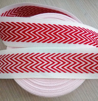 3.5cm Jacquard Polyester flat webbing for mattress