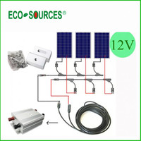 300w solar power electricity generating system for home price