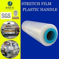 multi-use/anti-scattering PE Stretch Film/super transparent/hand roll film/made in china