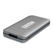 Ultra Mini size Aluminum case USB3.0 mSATA SSD HDD Enclosure with 1153E chipset support UASP