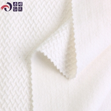 Mill shaoxing high quality jacquard white 155cm 32s 100% combed cotton jersey knit fabric