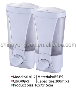 Double soap dispenser MJ9070-2
