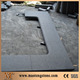 G684 Bullnose Edging Swimming Pool Tiles, Black Pearl Pool Coping