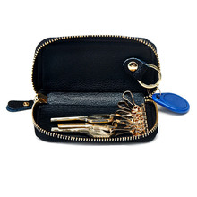 European and American Style Genuine Leather Car Key Case