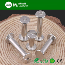 Stainless Steel Flat Head Male And Female Binding Post Chicago Screw