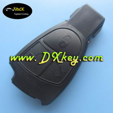 New arriver!! 3 buttons key cover with a circle on the backside no logo for mercedes key shell mercedes key covers