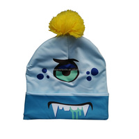 Funny Printing Monster Winter Hat