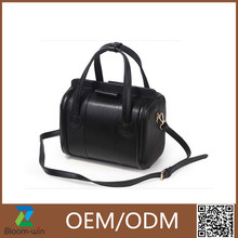 Newest commeicial big leather tote bag fancy lady handbag