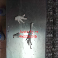 frozen chicken paws for sale ,duck paws cutting machine