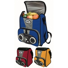 Outdoor Portable Picnic Food Insulated Cooler Bag with Speaker