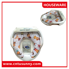 customized soft toilet seat cover for baby safety