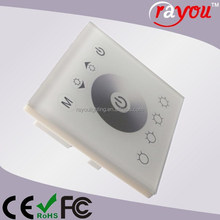 DC12-24V led dimmer switch, wireless rf led wall dimmer, touch dimmer 230v for led strip