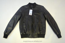 OEM Service Supply Factory Custom Autumn And Winter clothing dubai PU leather jacket