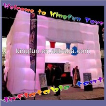 Advertising inflatable cube tent for promotion