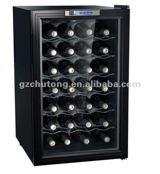 bw 70d red wine cabinet 28bottle wine cellar wine cooler cave a vin thermoelectric wine cooler. Black Bedroom Furniture Sets. Home Design Ideas