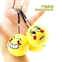 Portable Hanger Rope Emoji Wireless Mini Portable Speaker Cheap Cartoon Cute Wireless Speaker For Smell Cry Kiss Face