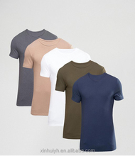 Multi Color Plain T-Shirt/ Blank T Shirts/Cheap Promotional T Shirt