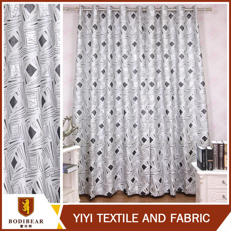 New style Turkey Fashionable latest curtain designs 2015