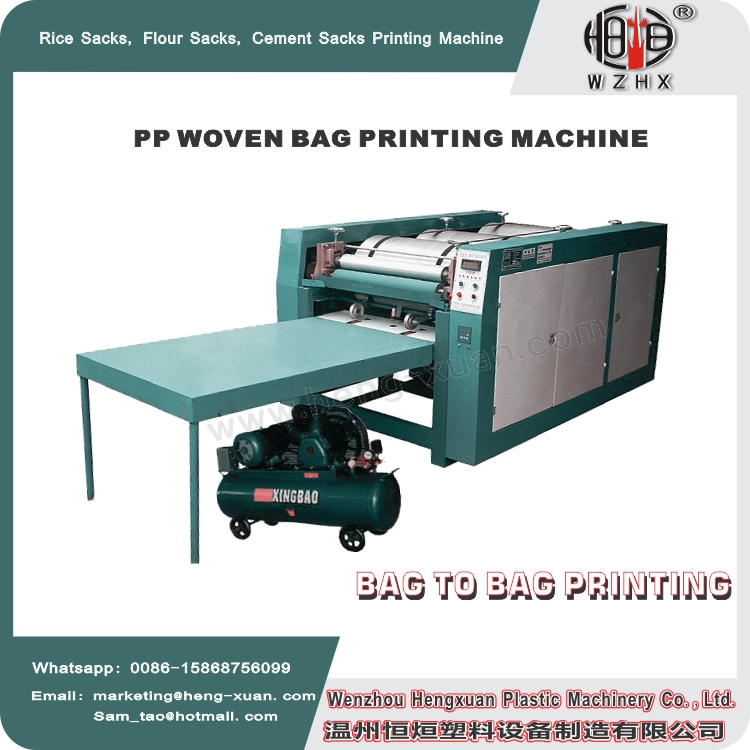 China manufacturer clothes bag printing machine With Good Service