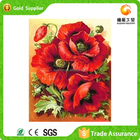 Easy To Operate Wholesale Alibaba Full Diamond Children 3d Pictures Of Beautiful Flowers