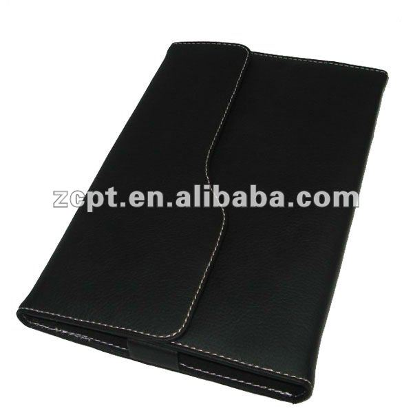 Hard Leather E-book Case Cover